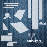 Shapes Brushes #001 by svtislife by svtislife