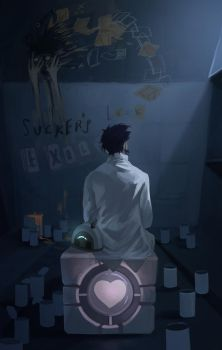 portal 2 In the end by biggreenpepper