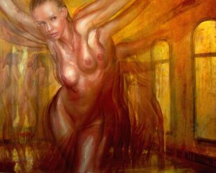 dancing nude by nailone