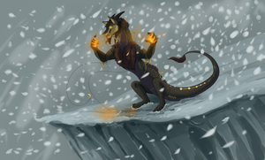 Winter is coming, she preys on us all by Sniv-The-Unworthy