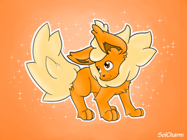 Flareon by SolCharm