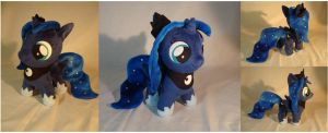 Princess Luna filly w/cutie mark by PlanetPlush