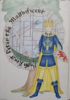 High King Peter by AmethystInk