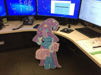 Trixie die cut  by ramivic
