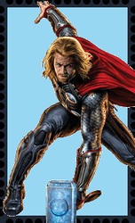 Thor Odinson Stamp by WOLFBLADE111