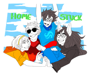 happy homestuck by BeHappy-GoSmiley