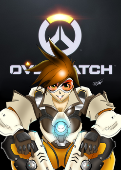 Tracer Overwatch: BO3 Pose by BTRAPPER