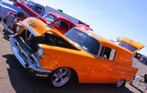 57 Chevy Sedan Delivery by StallionDesigns