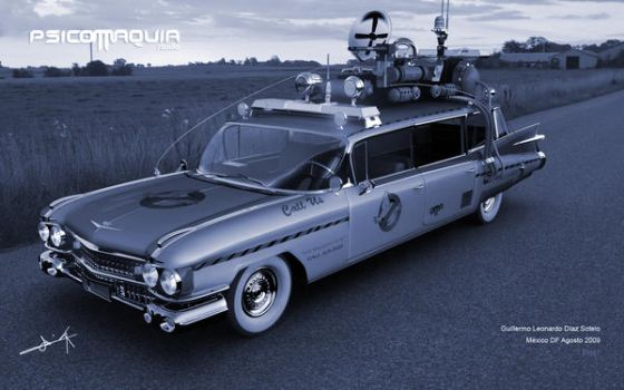 Ecto 1 by parpadica