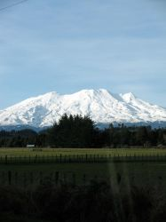 Ruapehu Roams The Earth by modestlobster