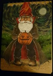 photo of my picture Halloween Gnome by nanaphotos
