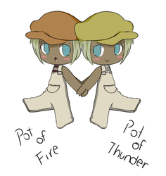 Pot Of Fire Pot Of Thunder by Tawiie