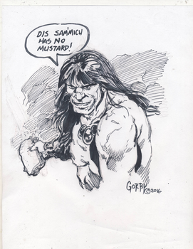 Conan doodle by cbgorby