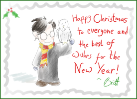 Christmas Greetings by acciosnitch