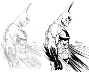 Mike Turner BATMAN by TimTownsend