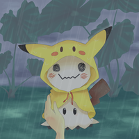 Rain Coat for Mimikyu