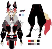 Kitsune boy  adoptable closed by AS-Adoptables
