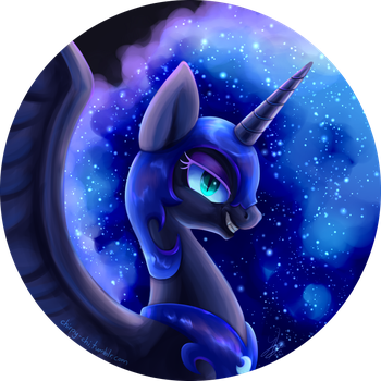 Nightmare Moon by Chirpy-chi