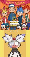 Ape Escape - Specter's Birthday by ecokitty