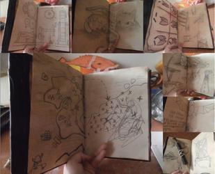 HTTYD Hiccup Cosplay - Journal Finished by UnicornsInTheDryer