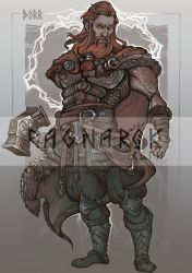 Character card#6: THOR by Sceith-A