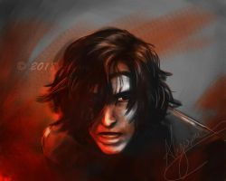 Kylo Ren (painterly study) by Alyoxy