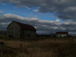 Stormy Yard by da-joint-stock