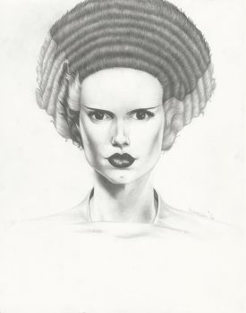Bride Of Frankenstein Practice by GreenGosselin