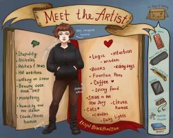Meet the artist by BlackBirdInk