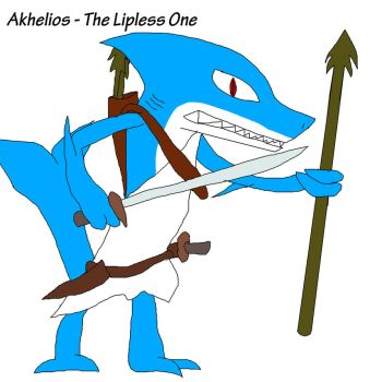 Akhelios - The Lipless One by LordTekron