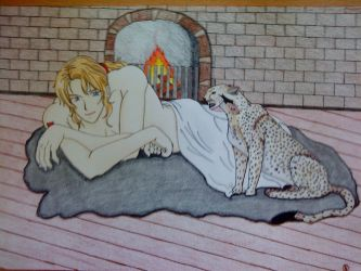 Enjolras at his new home by Meg-Giry