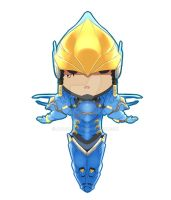 Pharah Overwatch Chibi by aplocads