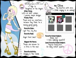Angelique Nevaeh - Monster High OC by AimiHime