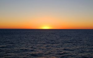 Sunset on the Gulf of Mexico by vivera9