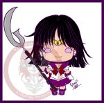 Sailor Saturn Chibi by ArtimasStudio