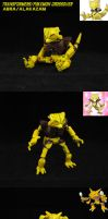 Transformers Pokemon Abra/Alakazam