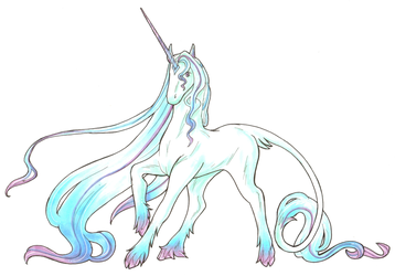 Unicorn (And the award for most original title...) by Desi-Designs