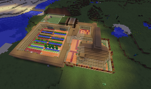 A Minecraft House by CatGirl22111