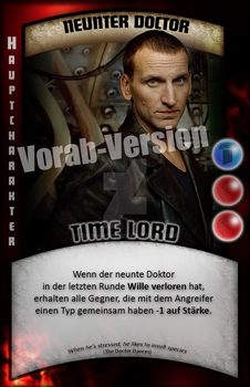 Doctor Who TRADING CARD GAME - Concept Card #1 by TheManthei