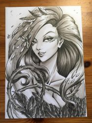 [FOR SALE] Poison Ivy - Copic by ArtofTiffie