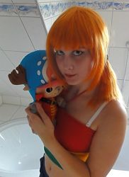 Nami Strong World Cosplay One Piece by Lucy-chan90