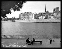 Right Bank, Paris, 2001 by DaveR99