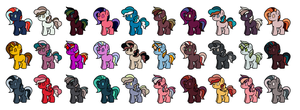 5 Point Adopts (OPEN) by Straylawnmower