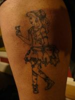 punk belle tattoo by ravercandy