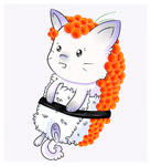 Sushi Cat Adopt [CLOSED] by Majas-Adoptables