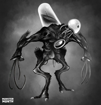 MONSTERMONTH No.7 - Experiment B/23 by hubertspala