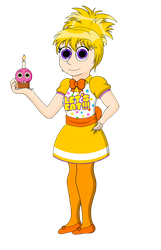 Chica the chicken- human by TheNerdyKat