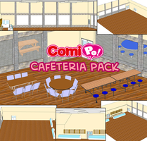 ComiPo! Cafeteria Pack by AKIO-NOIR