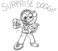 Surprise Doggy by NAveryW