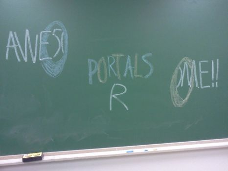 Portals R Awesome!! by MariovsSonic2008
